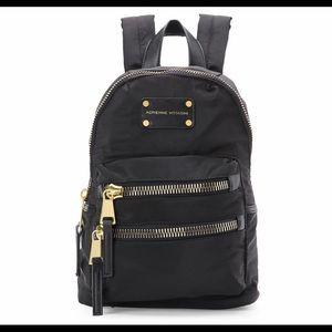 Black Adrienne Vittadini Mini Backpack